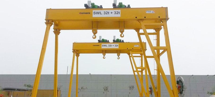 Gantry Crane Training
